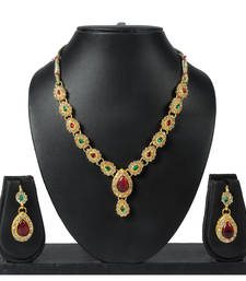 Buy Luxor Studded Diamond Mangulsutra Set Special Mothers Day Gift for women necklace-set online