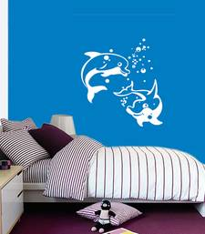 Buy Dolphins wall-decal online