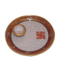 Buy Diwali pooja thali decoration other-home-accessory online