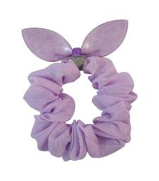 Buy Plain Purple Fabric Hair Rubber Band for Women Other online