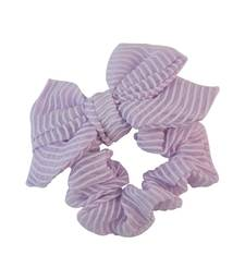 Buy Purple Fabric Hair Rubber Band for Women Other online