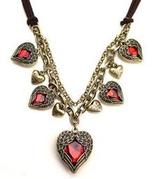 Buy All those hearts Necklace online
