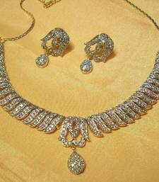 Buy Designer AD Necklace 010 necklace-set online