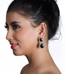Buy Cute Black Earrings danglers-drop online