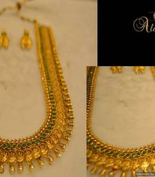 Buy Long Traditional Necklace Set Necklace online