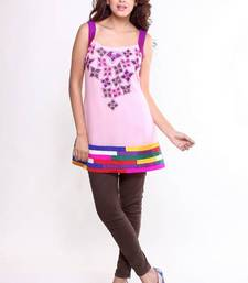 Buy Ethnic Splash of Colour Tunic kurtas-and-kurti online