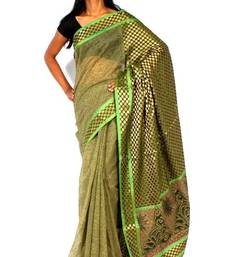 Buy Designer supernet  fancy pallu Printed saree supernet-saree online