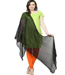 Buy Chiffon Dupatta Black stole-and-dupatta online