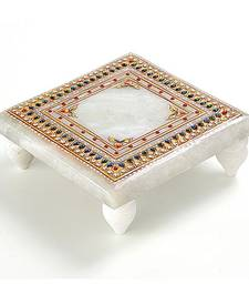 Buy Marvel In Marble -Chowki-036 other-home-accessory online