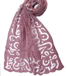 Buy Hand-made Champagne Beige Coloured Pashmina blend Shawl shawl online