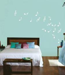Buy Musical notes abstract wall decal wall-art online