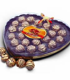 Buy Mouth Watering Cherir 24 Pc. Chocolaty Wafer Balls Deepawali Special Gift 136 diwali-chocolate online