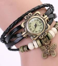 Buy Beautifull Women Vintage Watch - Watches by Morden Black Watch watch online
