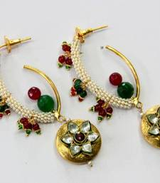 Buy BEAUTIFUL KUNDAN PEARLS HANGINGS Other online