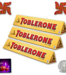 Buy Delicious Toblerone with Spiritual Wooden Swastik birthday-gift online