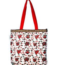 Buy Accrue tote with elephant motiff.  potli-bag online