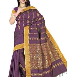Indian Traditional Ethnic Mono Silk Party Wear Wedding wear Saree PS208 shop online