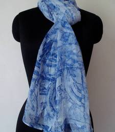 Buy Story in Blue stole-and-dupatta online