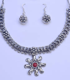 Buy Silver Necklace necklace-set online