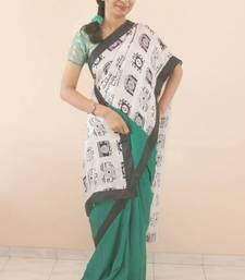 Buy Green Pure Silk Camera Saree silk-saree online