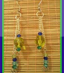 Buy Green season Earrings-Aliff Lailaa-03060 danglers-drop online