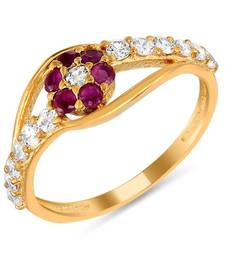 Buy Mahi Glittering Beauty Fingerring Ring online