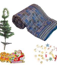 Buy Jaipuri Double Quilt Colorful Christmas Tree Gift 135 christmas-gift online