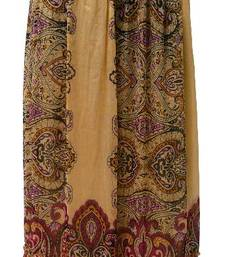 Buy Gold and Rust Red bandhani print skirt long-skirt online