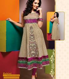 Buy ISHIN Cotton Cream kurti Rahini_XL kurtas-and-kurti online