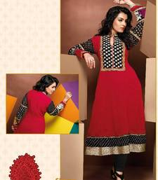 Buy ISHIN Cotton Red kurti Simran_L kurtas-and-kurti online