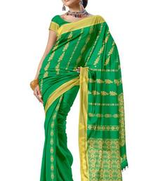 Ethnic Latest Arificial Silk Zari Party Wear Saree Sari PS226  shop online