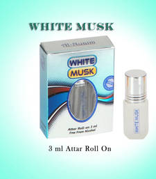Buy AL NUAIM WHITE MUSK 3ML ROLL ON gifts-for-him online