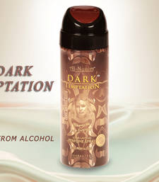 Buy AL NUAIM DARK TEMPTATION 200ML PERFUME Deodorant gifts-for-him online