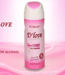 Buy AL NUAIM D'LOVE 200ML PERFUME Deodorant gifts-for-him online