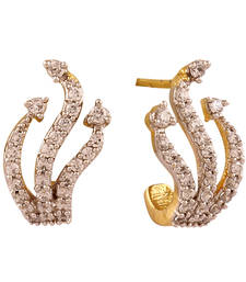 Buy fashion forward american diamond earring stud online