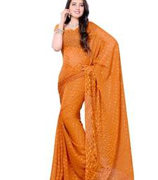 Buy Dainty Casual Wear Saree with fancy fabric from DIVA FASHION- Surat georgette-saree online