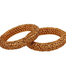 Buy All time Gold plated antique bangle bangles-and-bracelet online