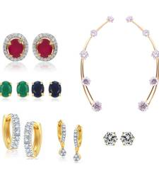 Buy Combo Multicolour of Earrings combo-earring online