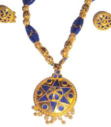 Indian Assamese Jewellery Japi Blue shop online