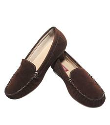 Buy Brown richiee  moccasins shoes Shoe online