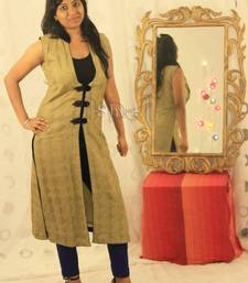 Buy Embroidered Multipurpose Jacket dress online