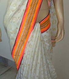 Buy NEON  GIRL georgette-saree online