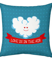 Buy Designer Romantic Printed Filled Cushion cushion-cover online