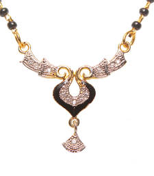 Buy Multicolor Cubic Zirconia mangalsutra mangalsutra online