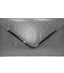 Buy Silver casual women clutch clutch online