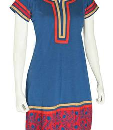 Buy Just Women - Beautiful Kurti with needle work kurtas-and-kurti online