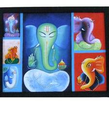Buy Canvas Painting - Ganesha painting online
