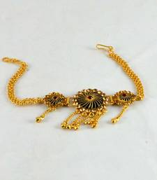 Buy micro gold platted stone,moti bajuband bajuband online