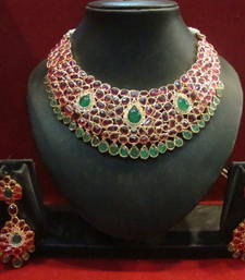 Buy Design no. 12.160....Rs. 11000 necklace-set online
