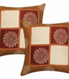 Buy polysilk cushion cover- set of 2 pillow-cover online